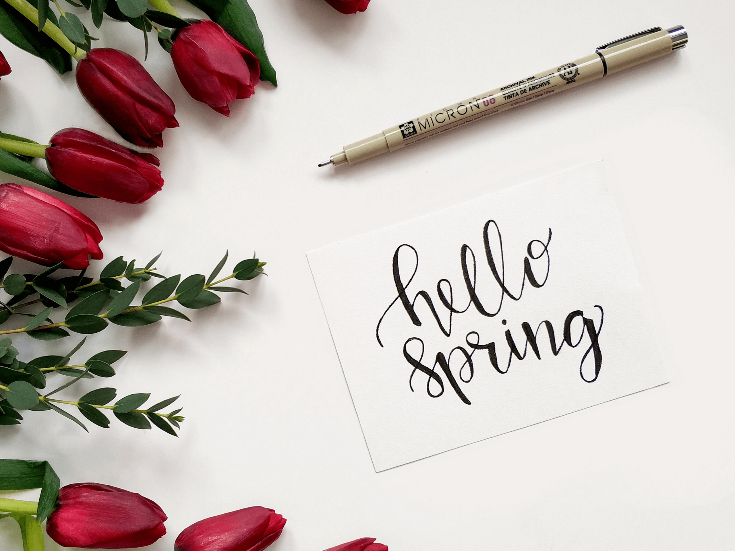 note quote hello spring