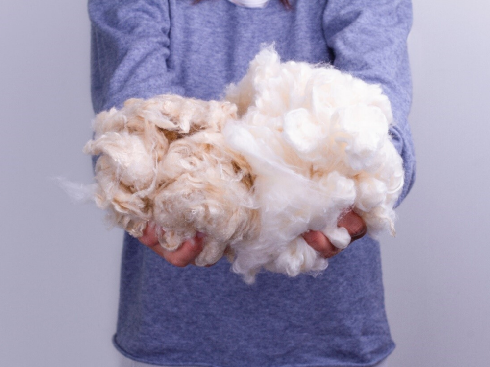 hands on cotton
