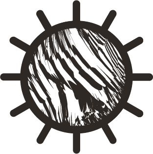 black Marialma's sun icon