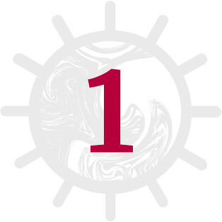 Marialma's sun icon with number 1