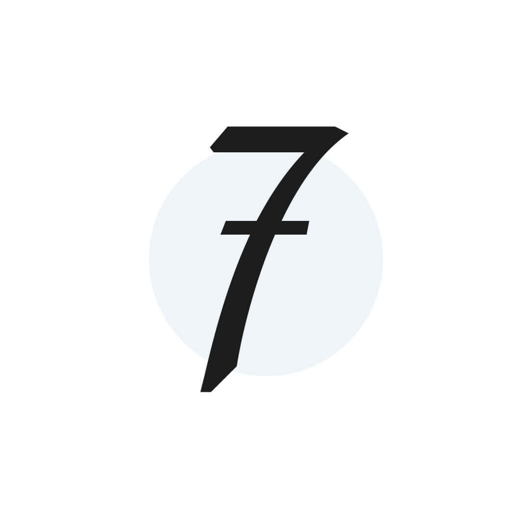 icon of number 7
