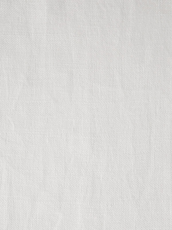The pattern of Marialma's Off White Hemp Cot Bed Sheet Set