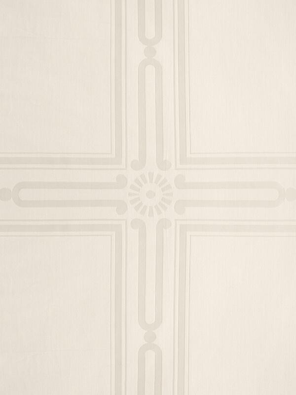 Marialma's Ivory Jacquard Pattern