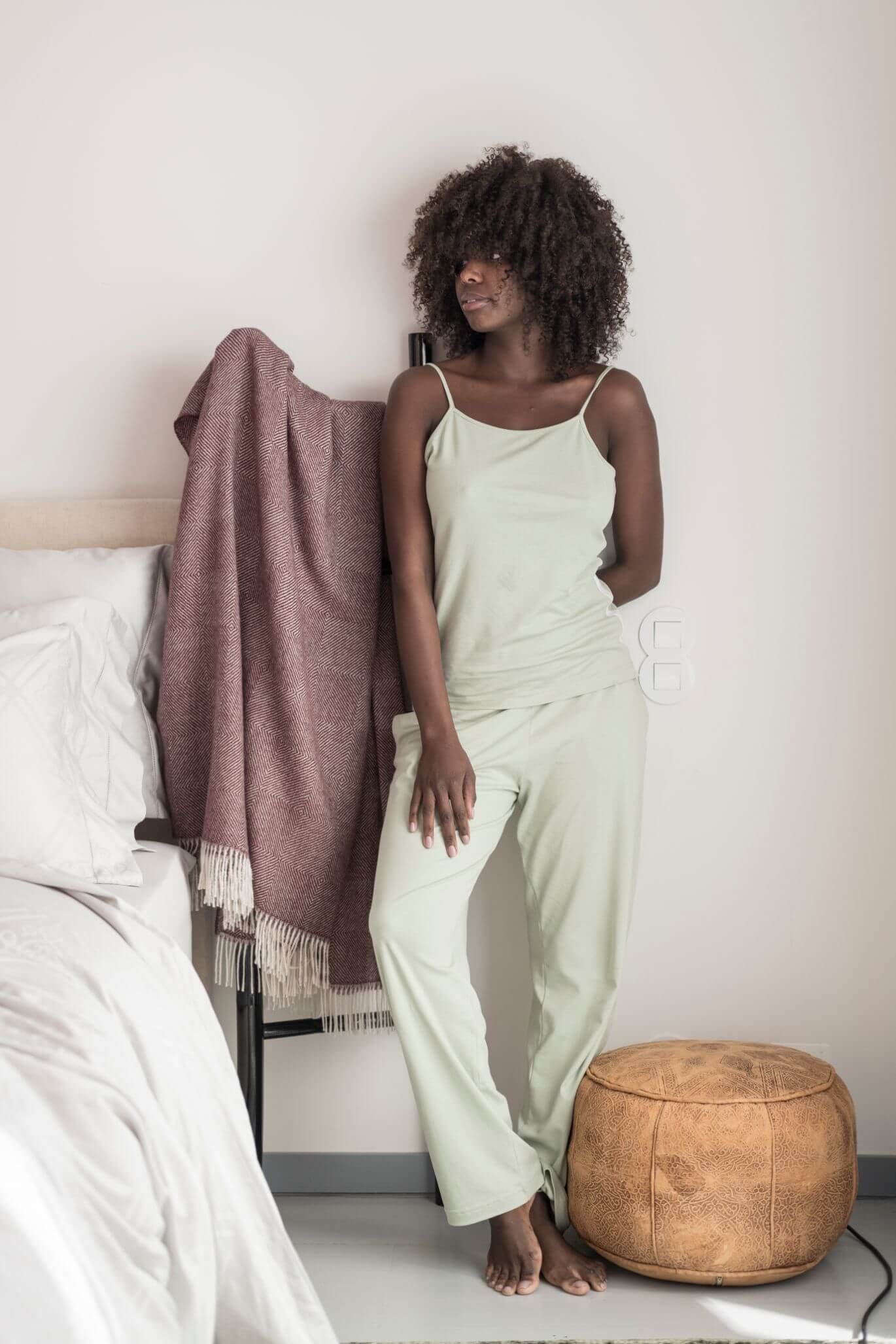 Women with Marialma green home wear