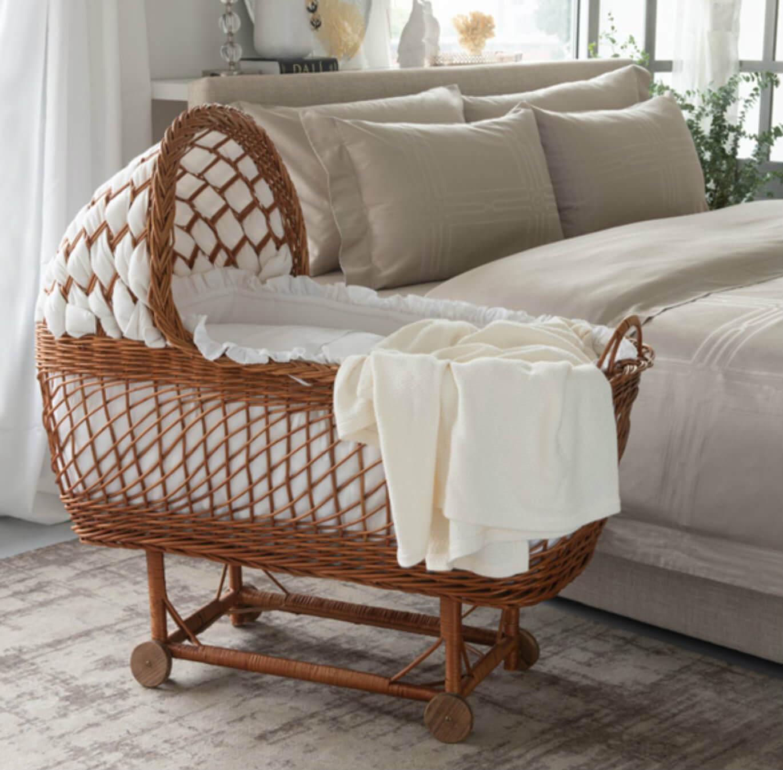 Marialma's Bassinet set in a bedroom