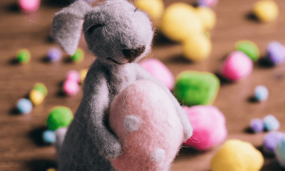 easter bunny handmade