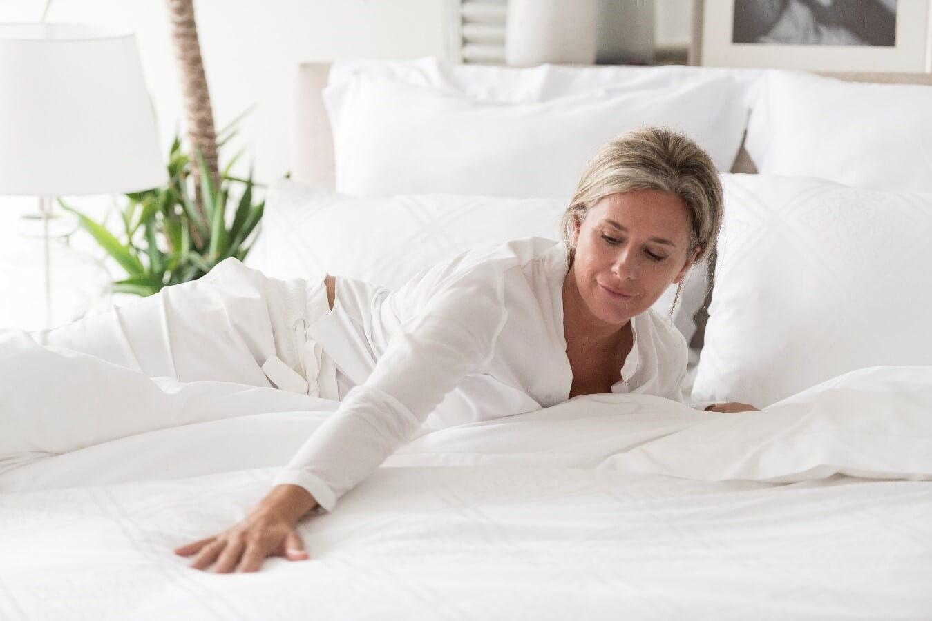 marialma bed sheets cotton seaweed